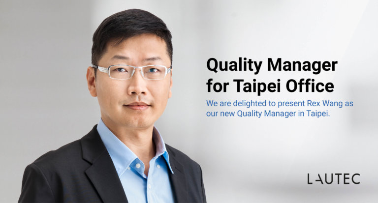Quality Manager joins Lautec in Taiwan
