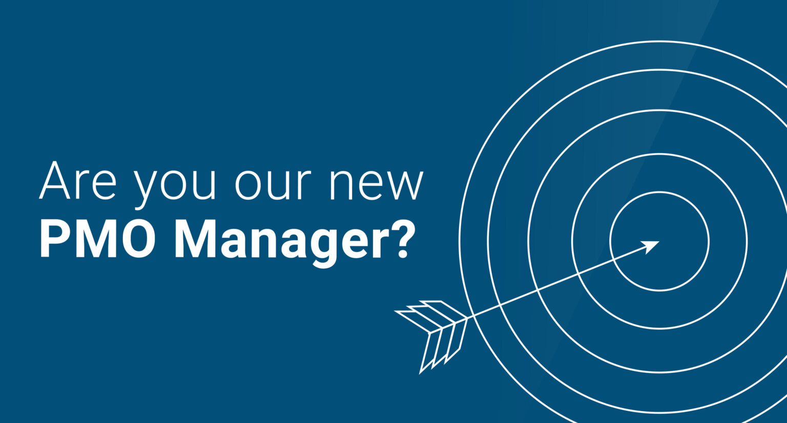 PMO Manager for Offshore Wind