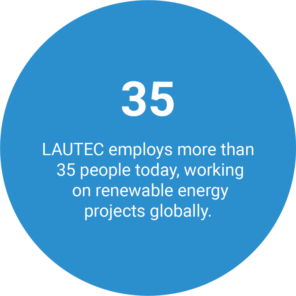 About LAUTEC Employees