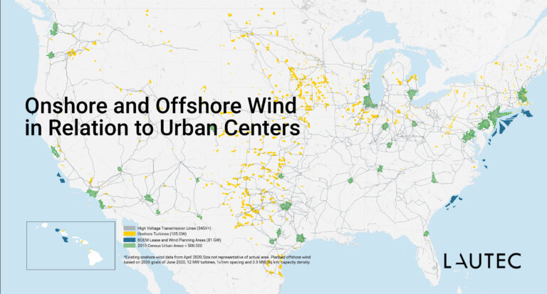 US offshore wind and onshore wind