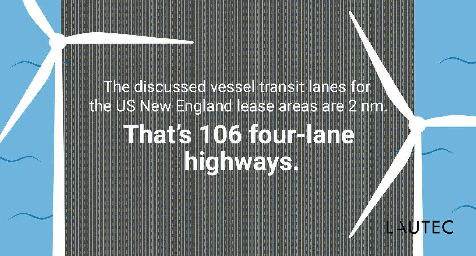 US Offshore Wind - nautical miles in highways